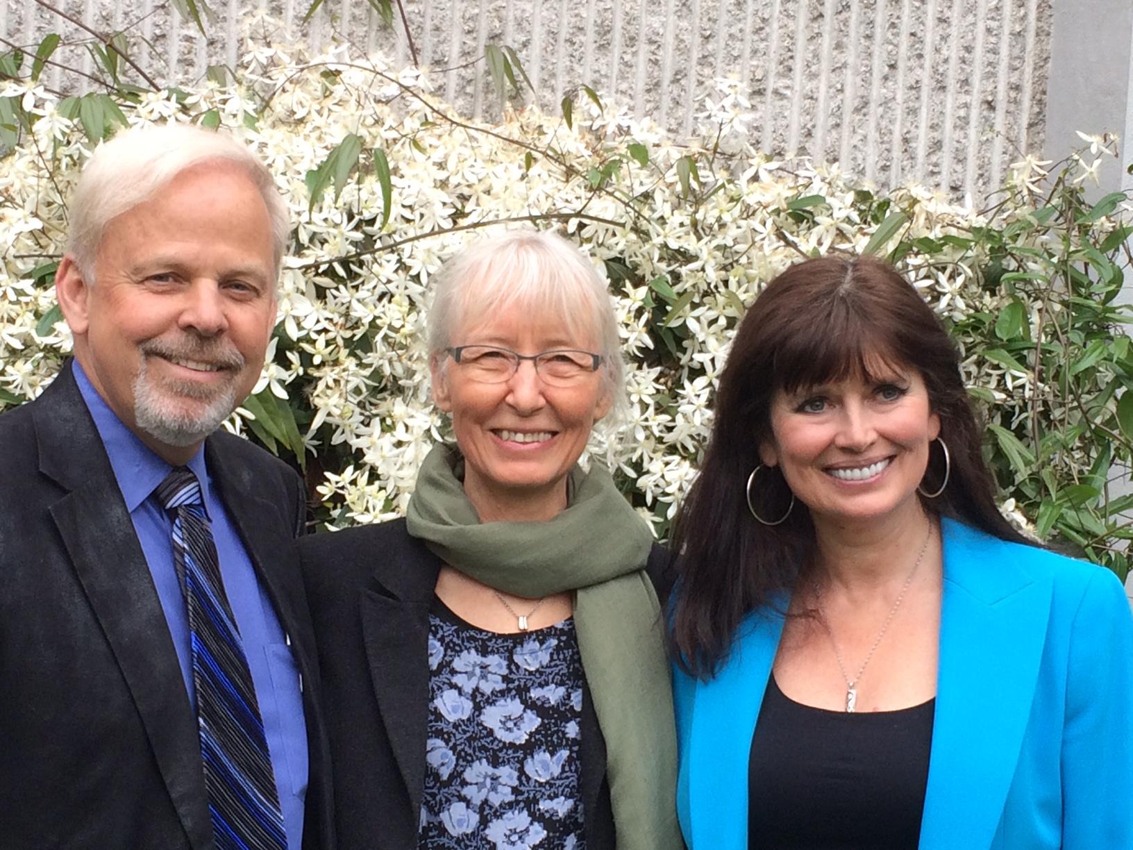 Dr. Robert O. Young, Inger Hartelius, Dr. Galina Migalko