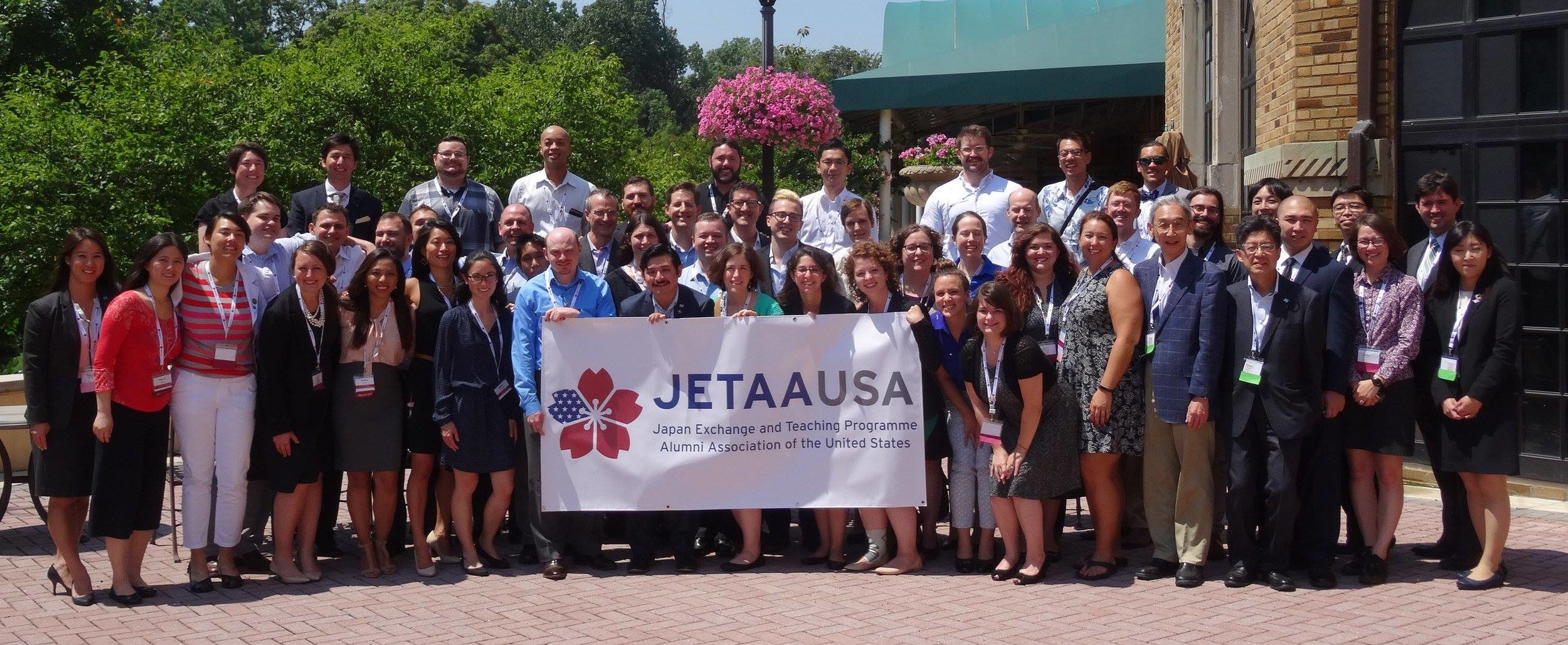 2017 JETAA USA National Conference & JET30 Reunion in Washington DC  August 4, 2017- Pictured above are the delegates from all JETAA chapters in the USA, Canadian delegates and CLAIR representatives.