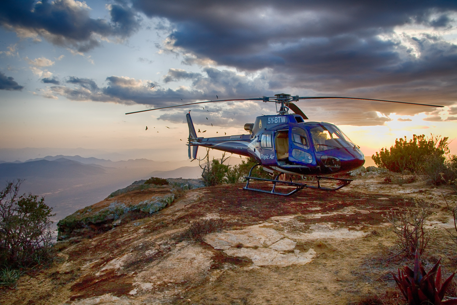 Helikopter Safaris