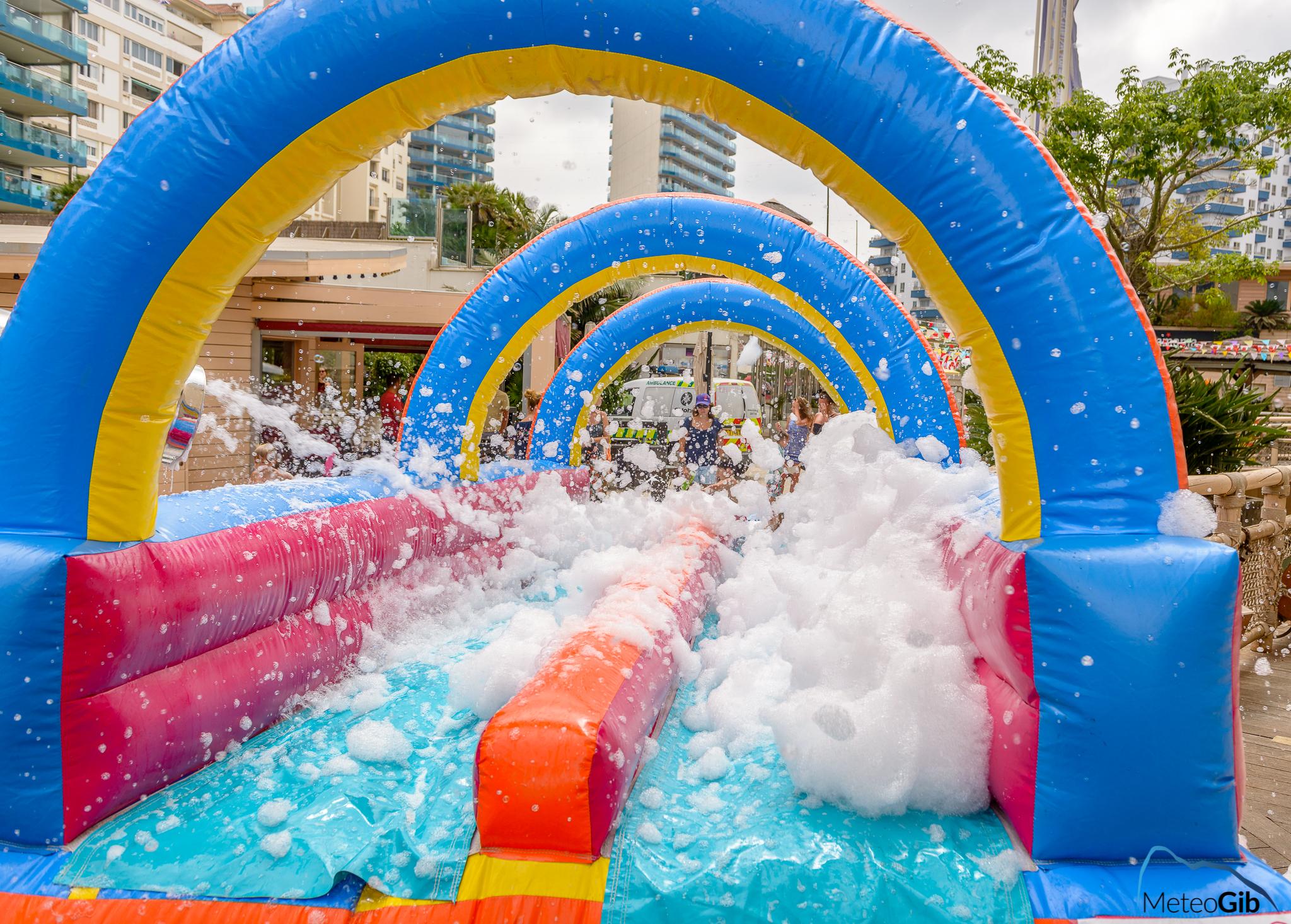 Foam Slide