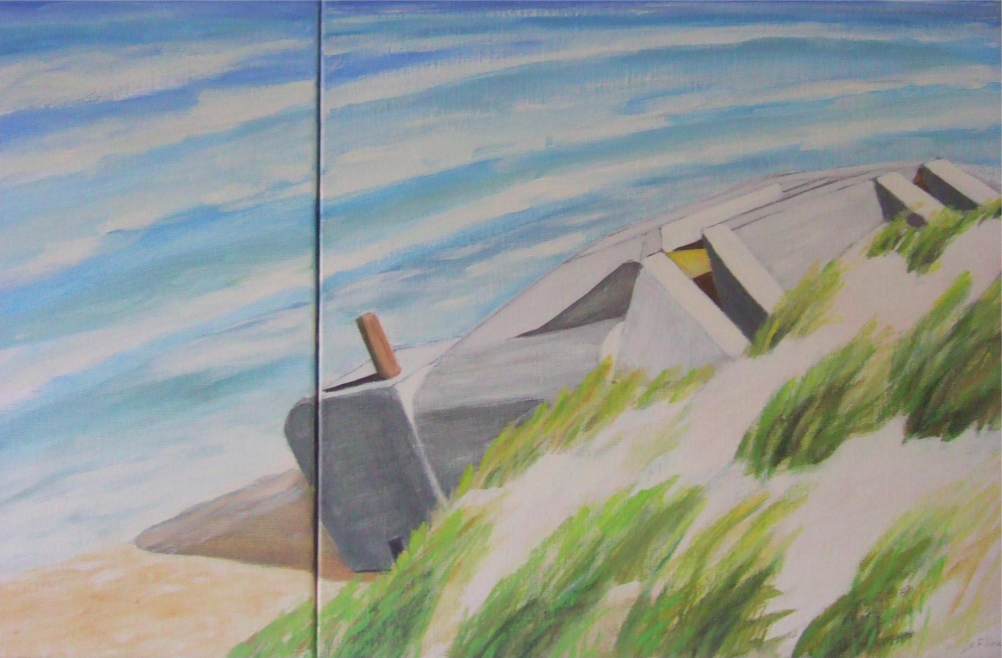 Dune et blockhaus, 1995