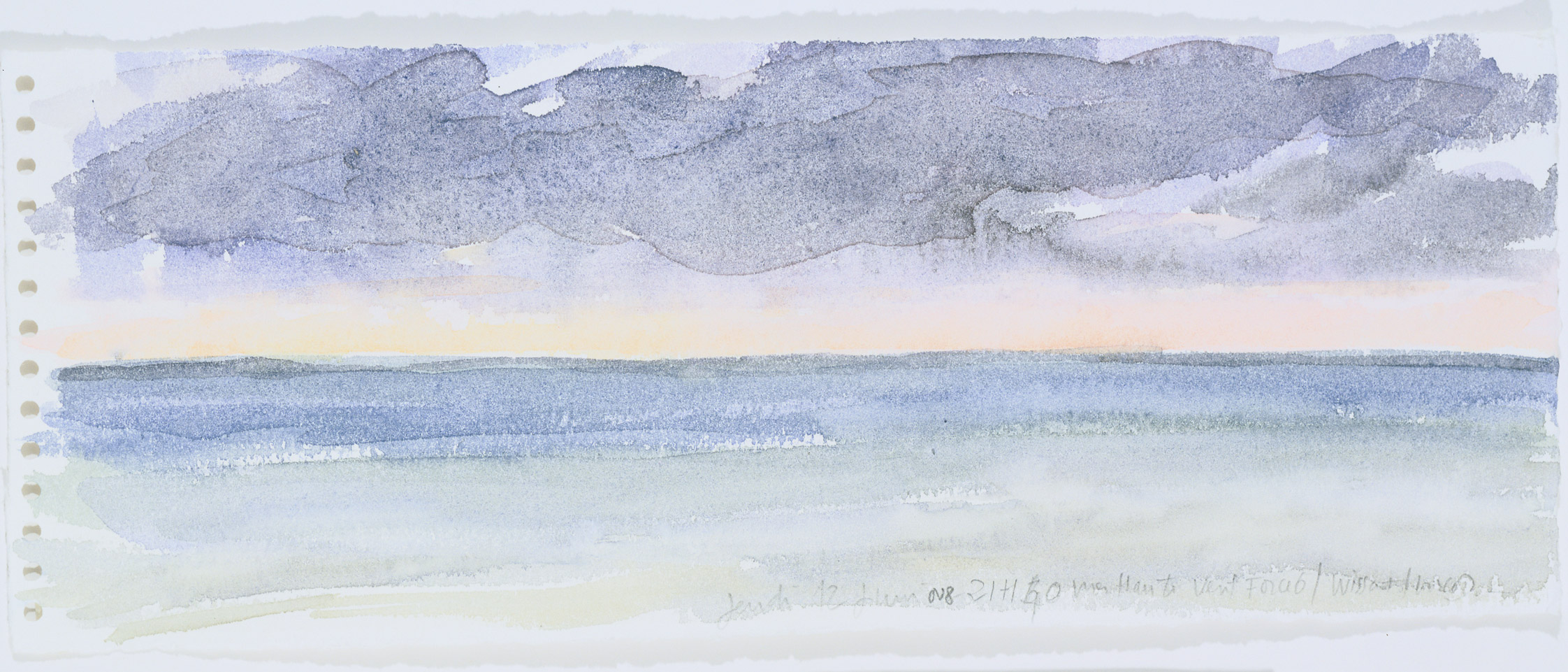 21 h 40, mer haute, vent force 6, 2008