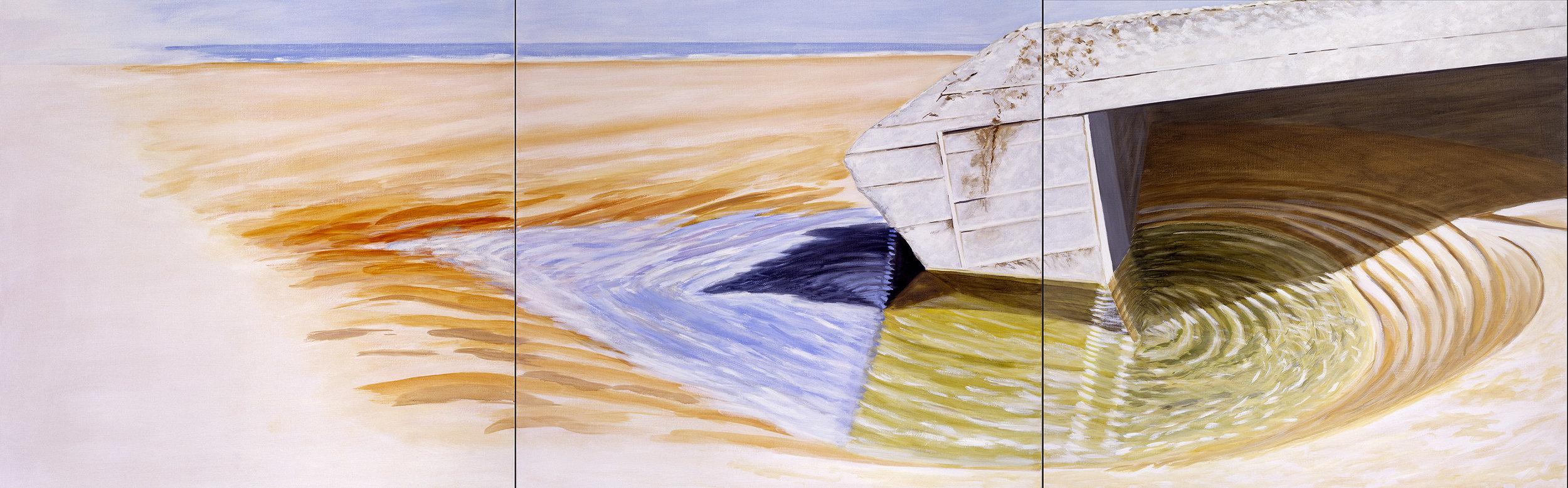 Ensablé, immergé, 1995