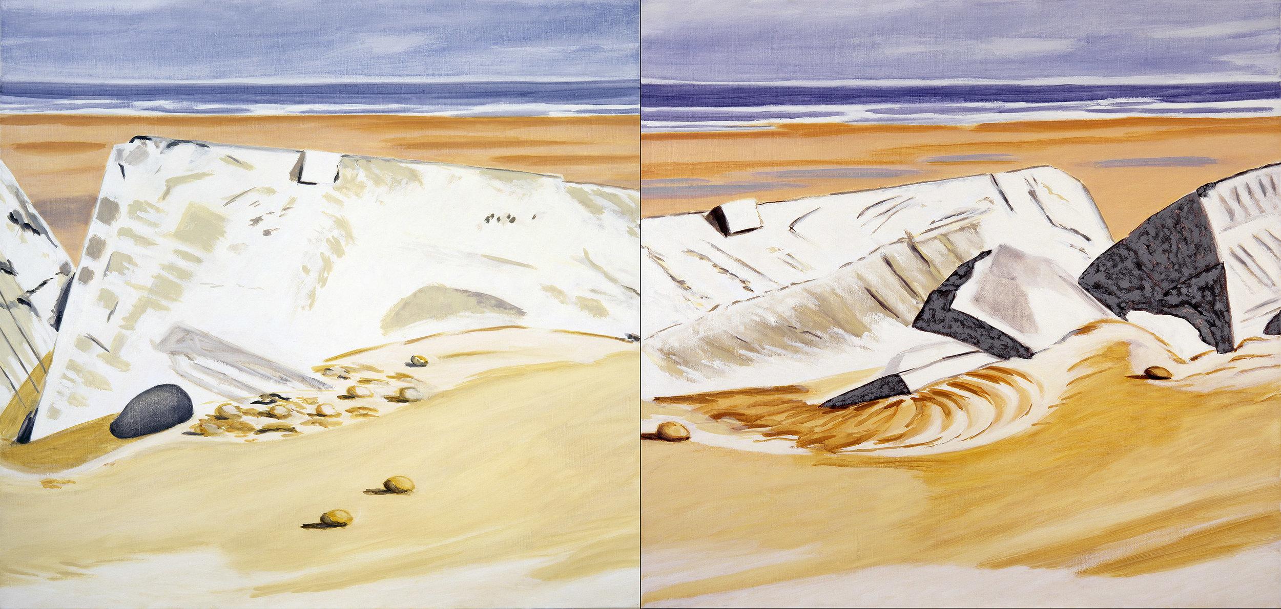 Fracture sur le Mur de l'Atlantique, 1996
