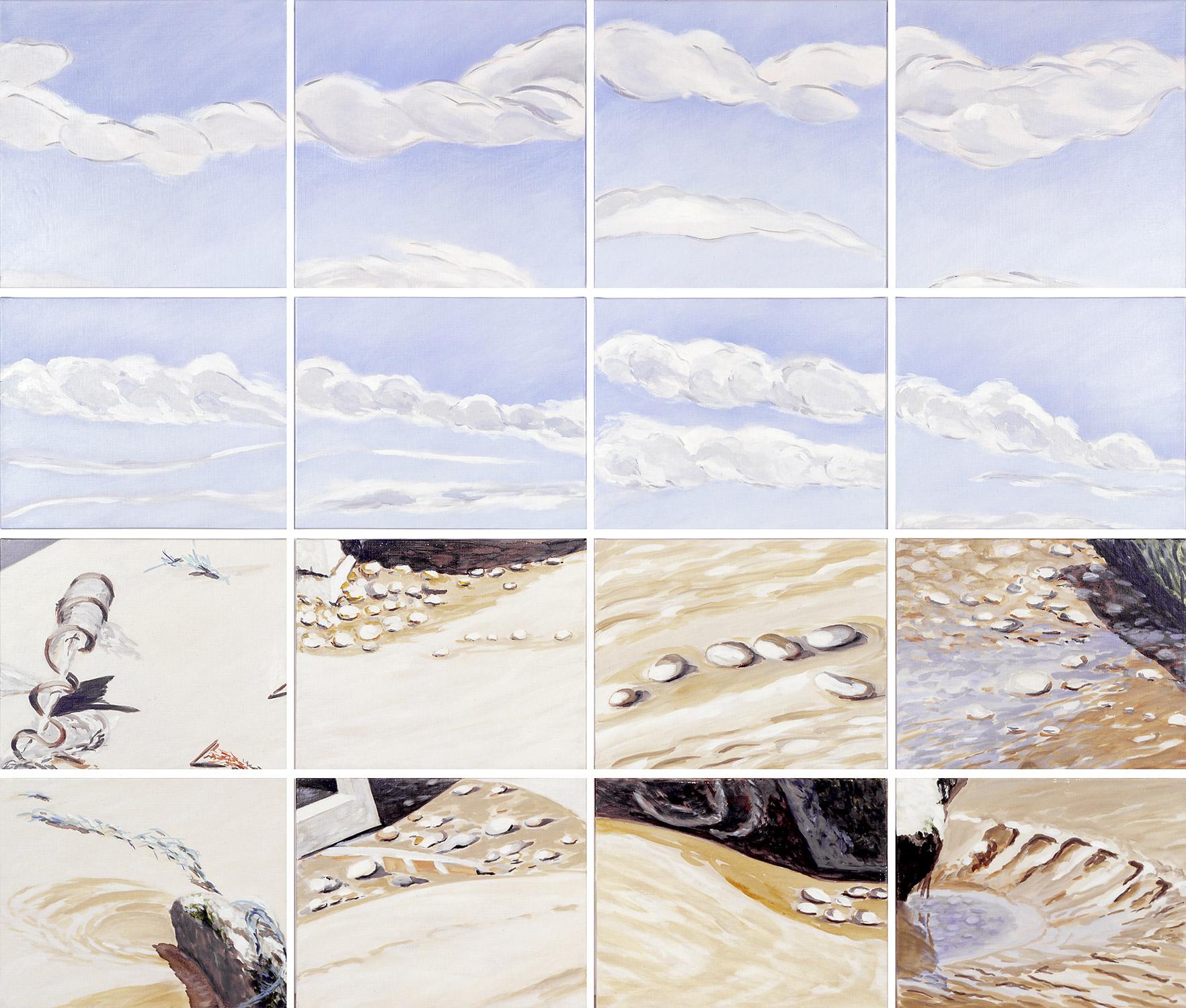 Le ciel et la terre Nº2, 2001
