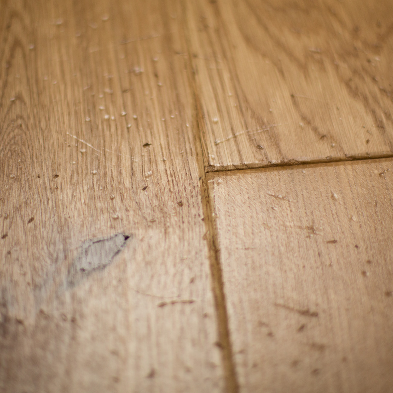 Luxury oak engineered flooring