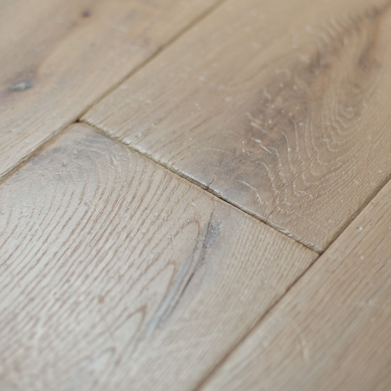 Genuine wood flooring