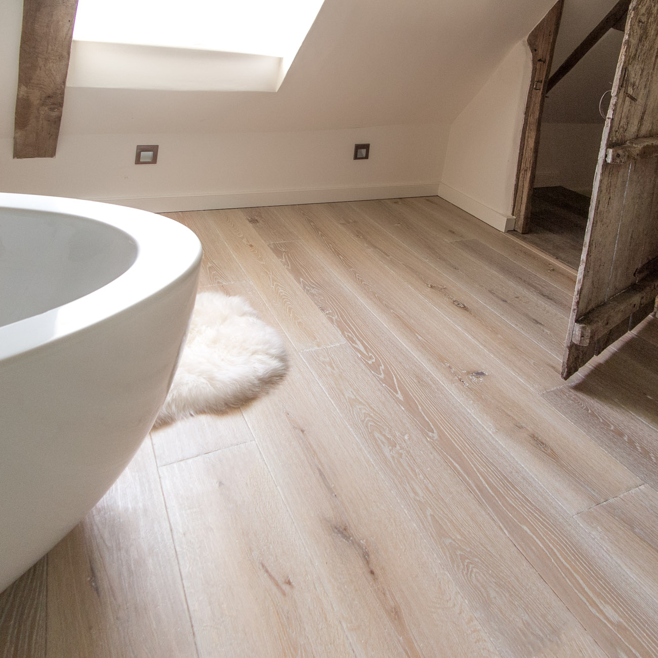 Bespoke engineered wood flooring