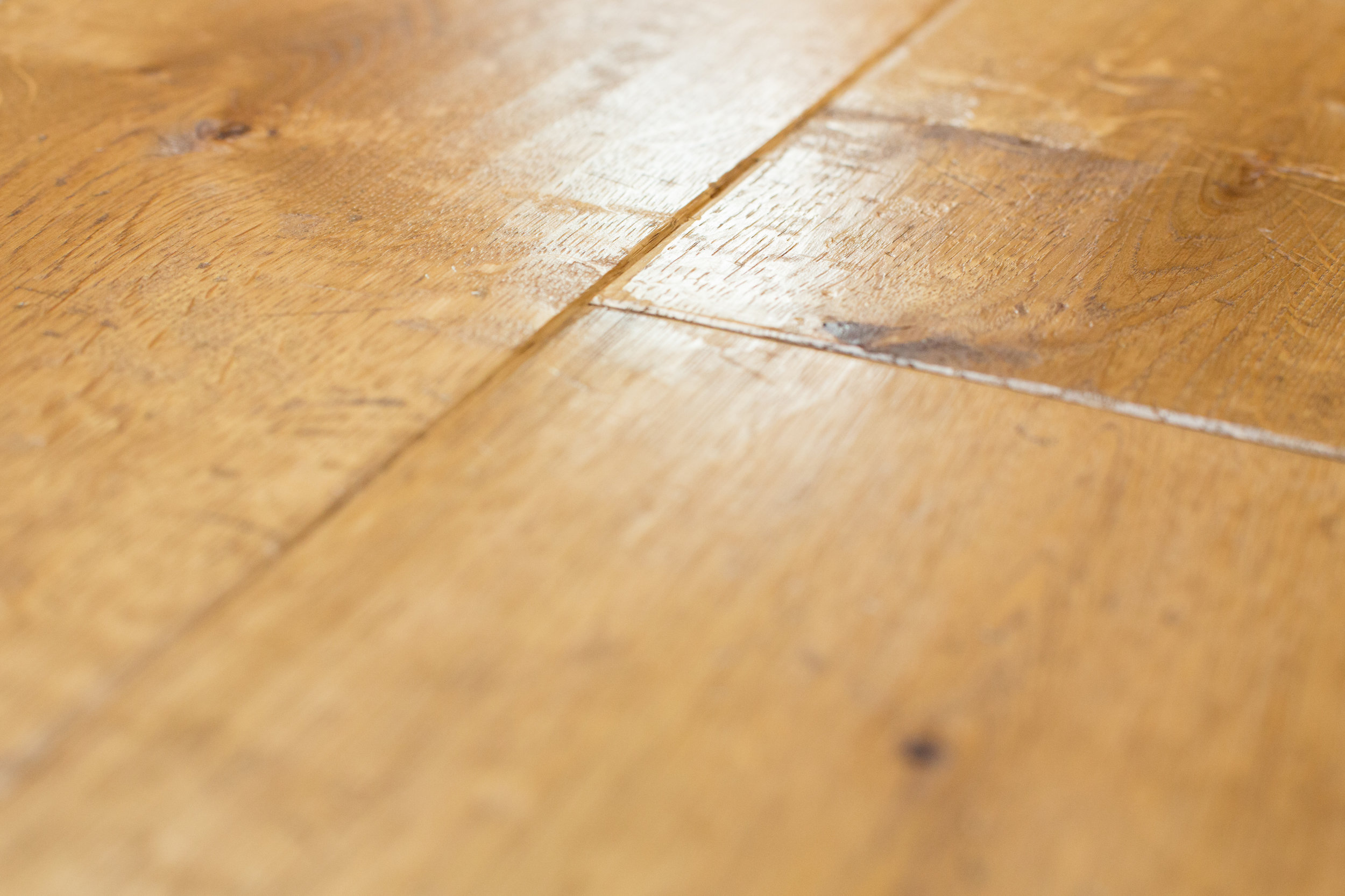 Wide oak boards