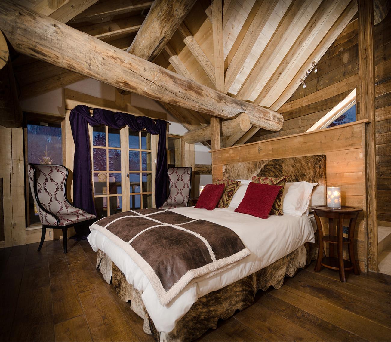 Log cabin flooring
