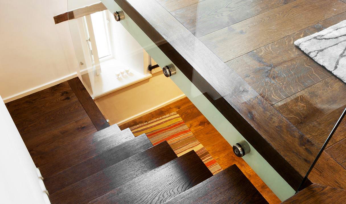 Real oak flooring