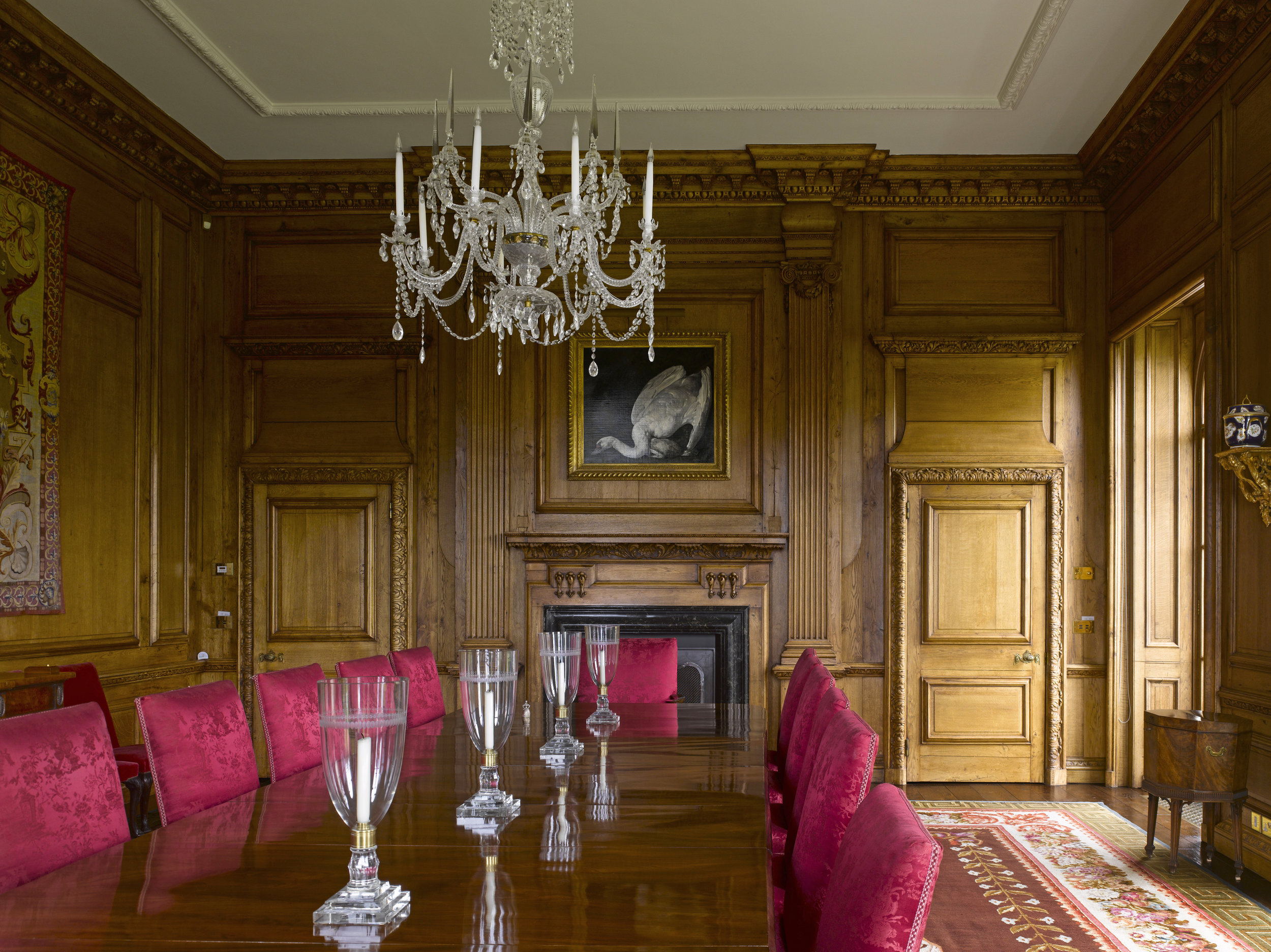 Luxury oak flooring