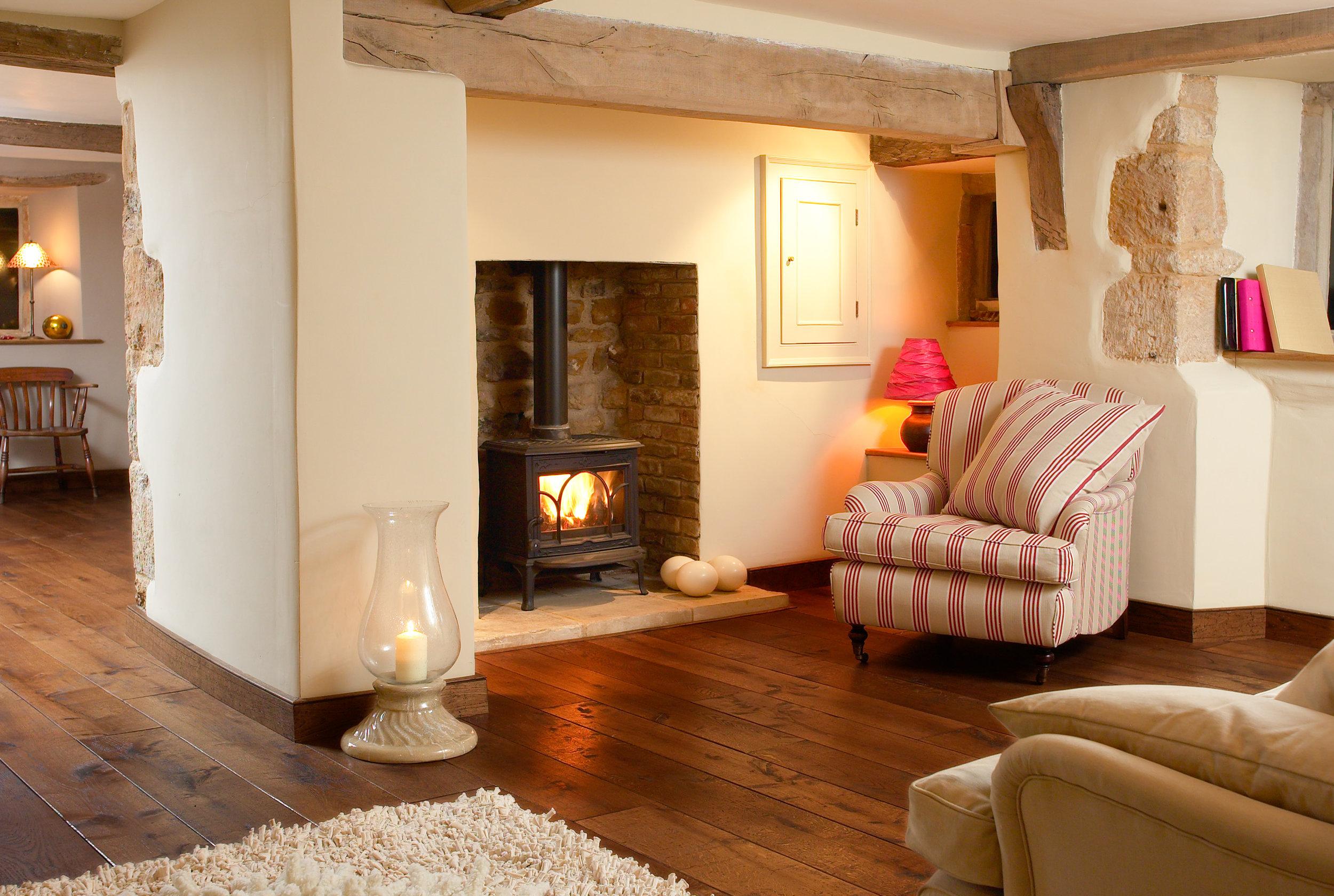 traditional old oak  floorboards hand waxed.jpg