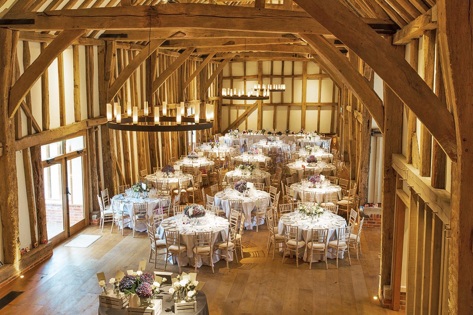Aged oak wide floors