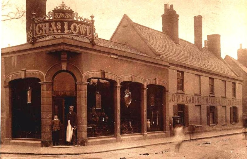 Charles Lowe cared about making his workshop innovative, his workers happy and having a place that could showcase his products in the best possible light.