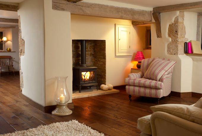 Oak floors can turn a house into a home.