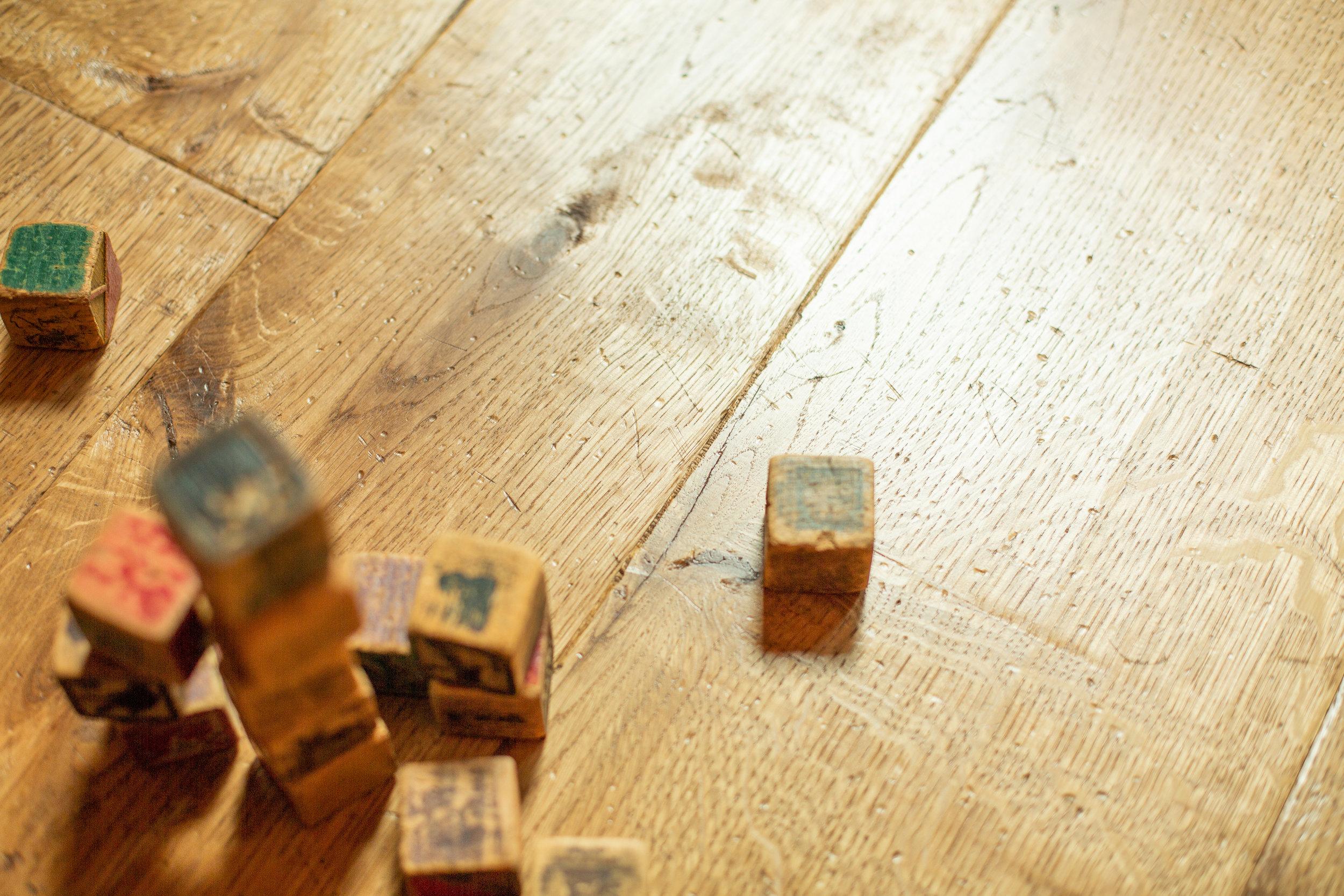 Bespoke engineered wood flooring