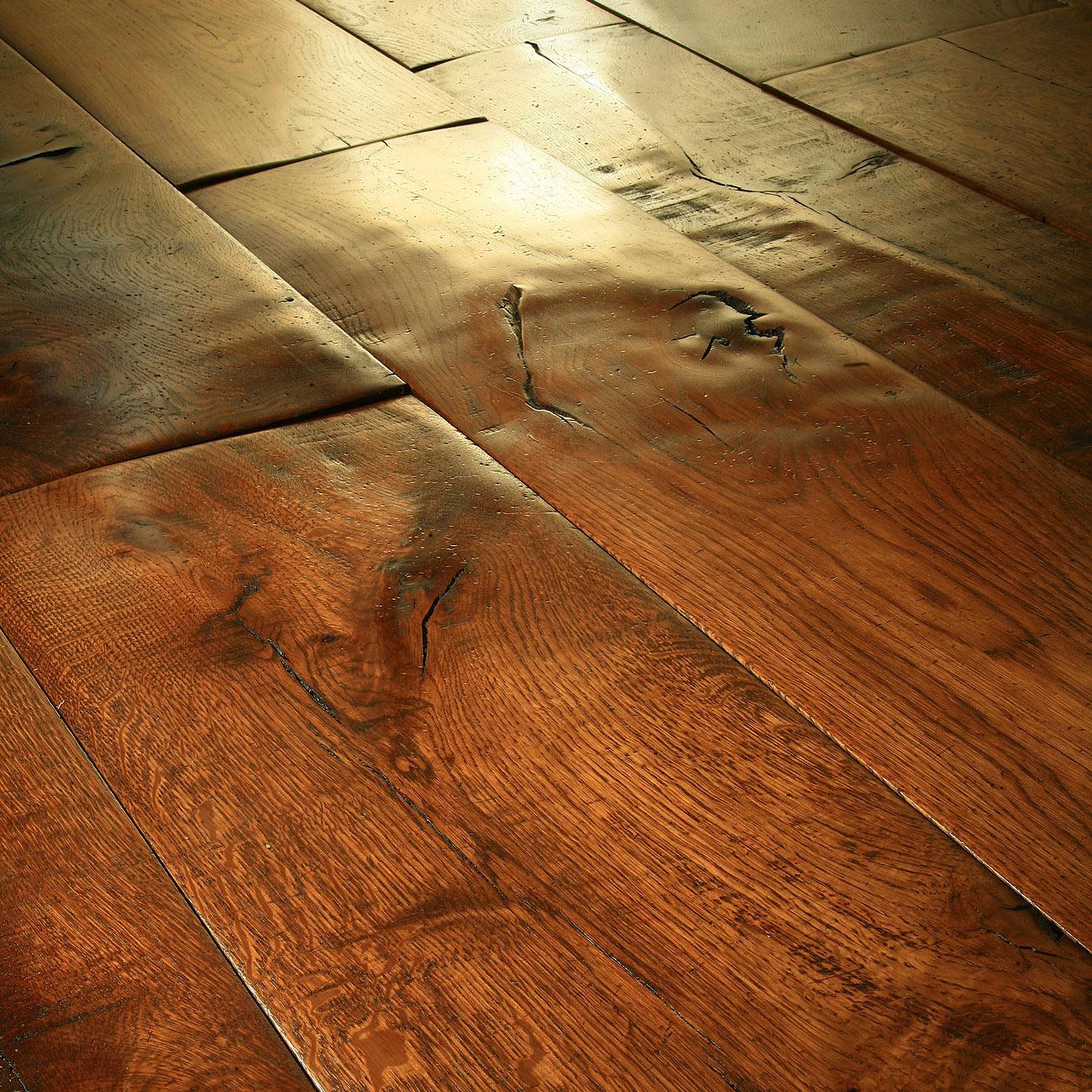 Charles Lowe & Sons Rich Footworn flooring..