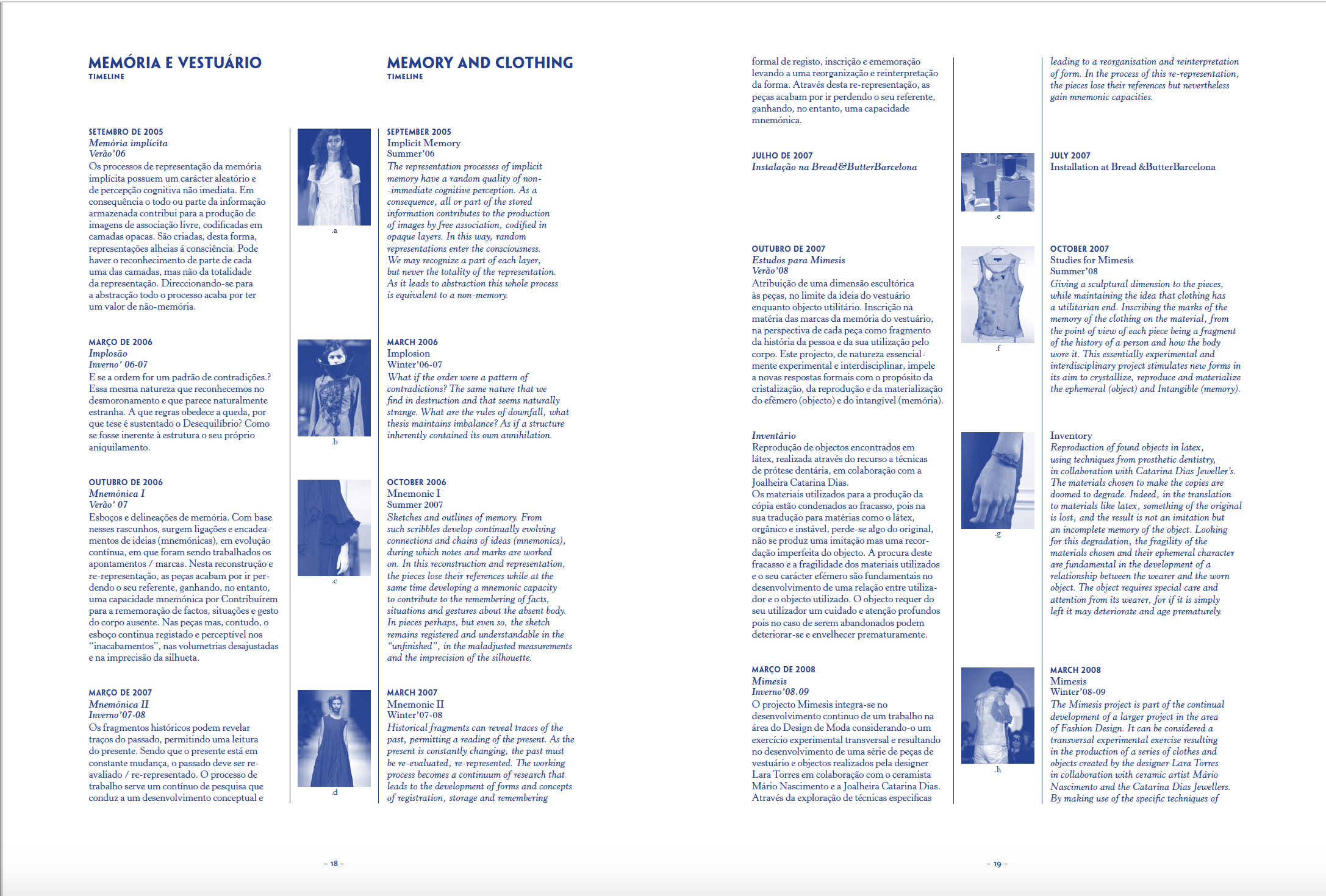Free Download of the fashionzine co-edited in 2009/10  Lab Journal I  and  Lab Journal II  design by  Raquel Pinto