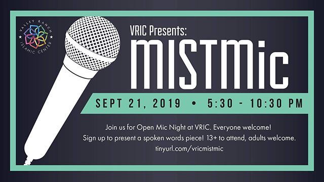 feeling post mist blues?? didn't get a chance to attend the spoken word competition at regionals?? come out to MISTMic at VRIC, a spoken word performance modeled after MIST spoken word! sign up to perform at tinyurl.com/vricmistmic