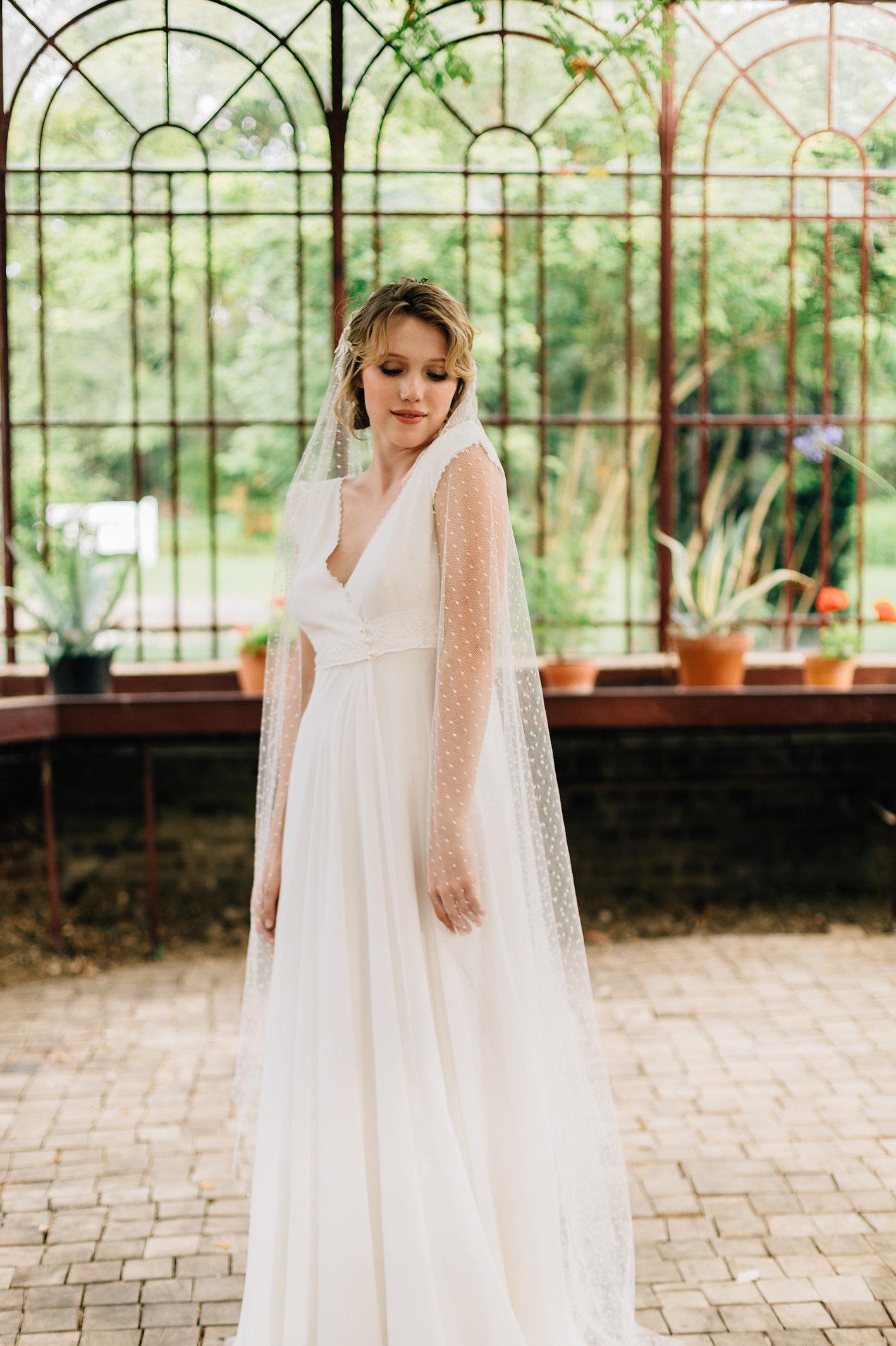 Robe Clémence - Voile Floralie