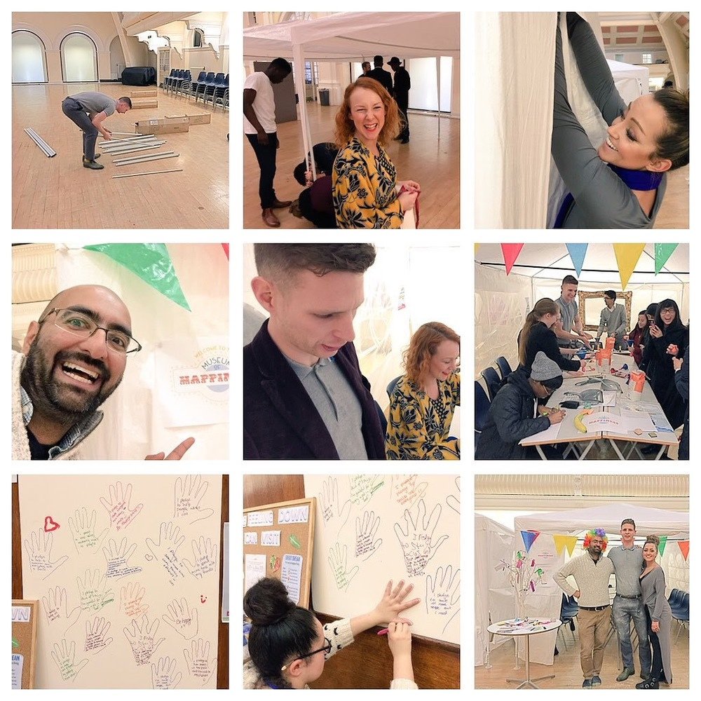 Museum of Happiness at Goldsmith's University with NCS The Challenge