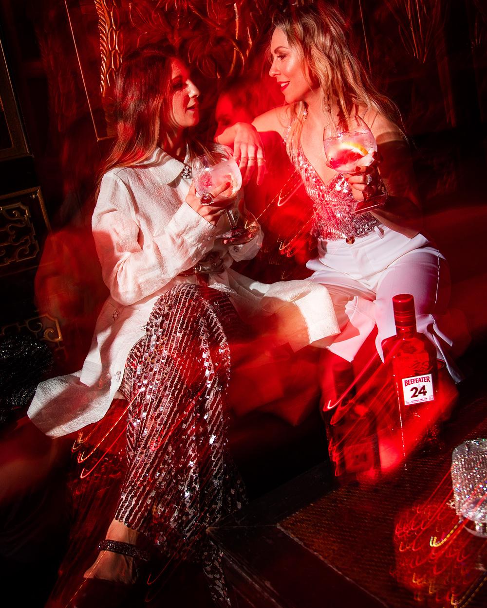 Lichteffekte im Fokus - Beefeater24 x Les Factory Femmes
