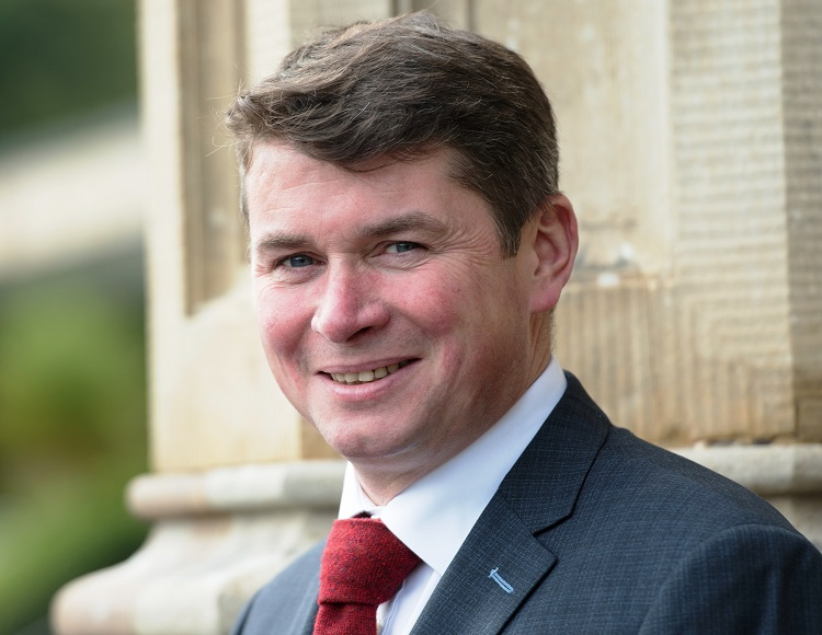The new general manager of Lough Eske Castle, Mr. Donal Cox