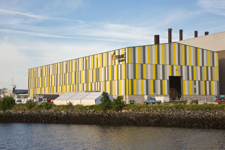 Belfast's  Titanic Studios