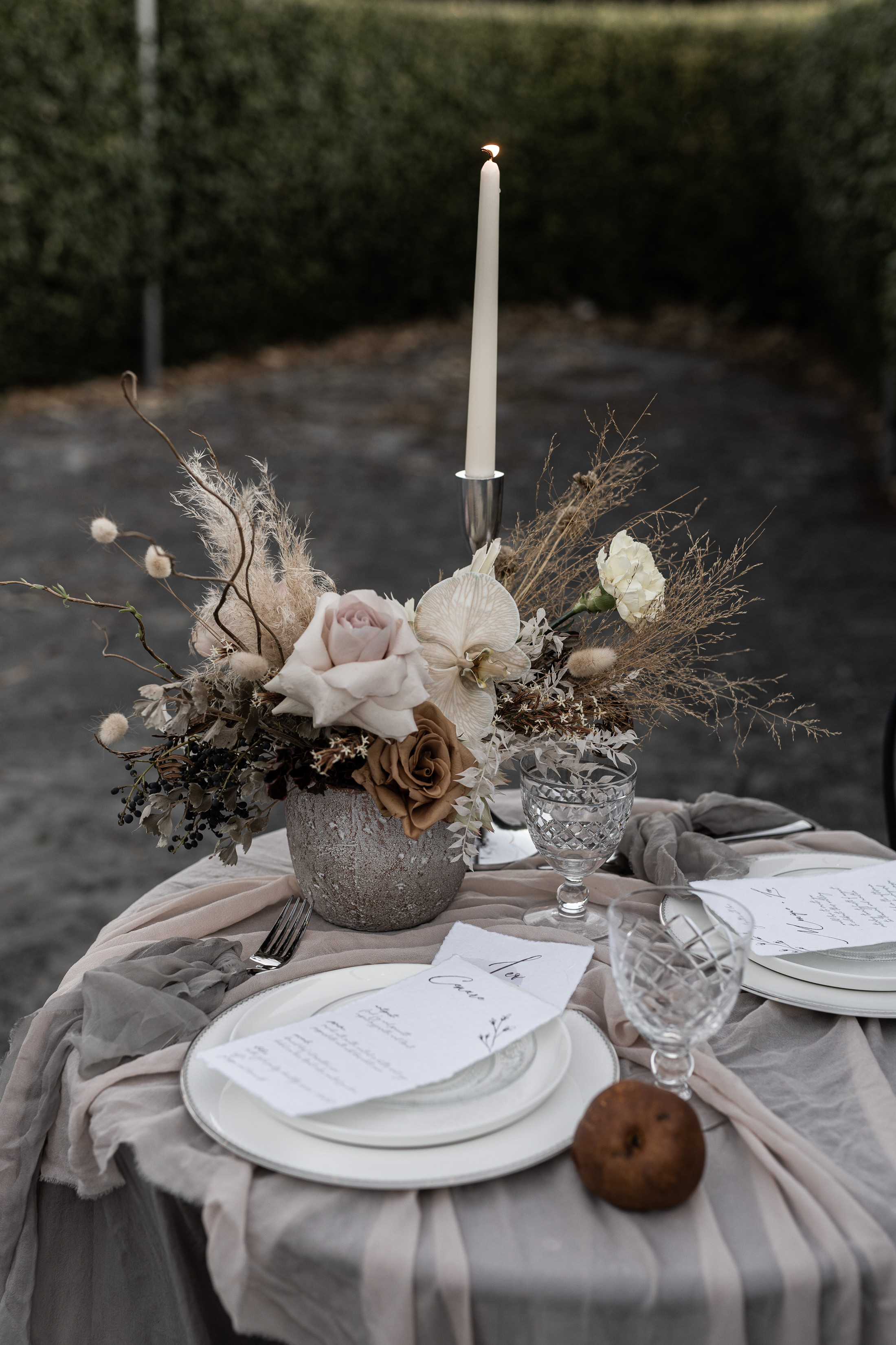 Styled Shoot Scenic Rim Sarabah Estate Table Setting