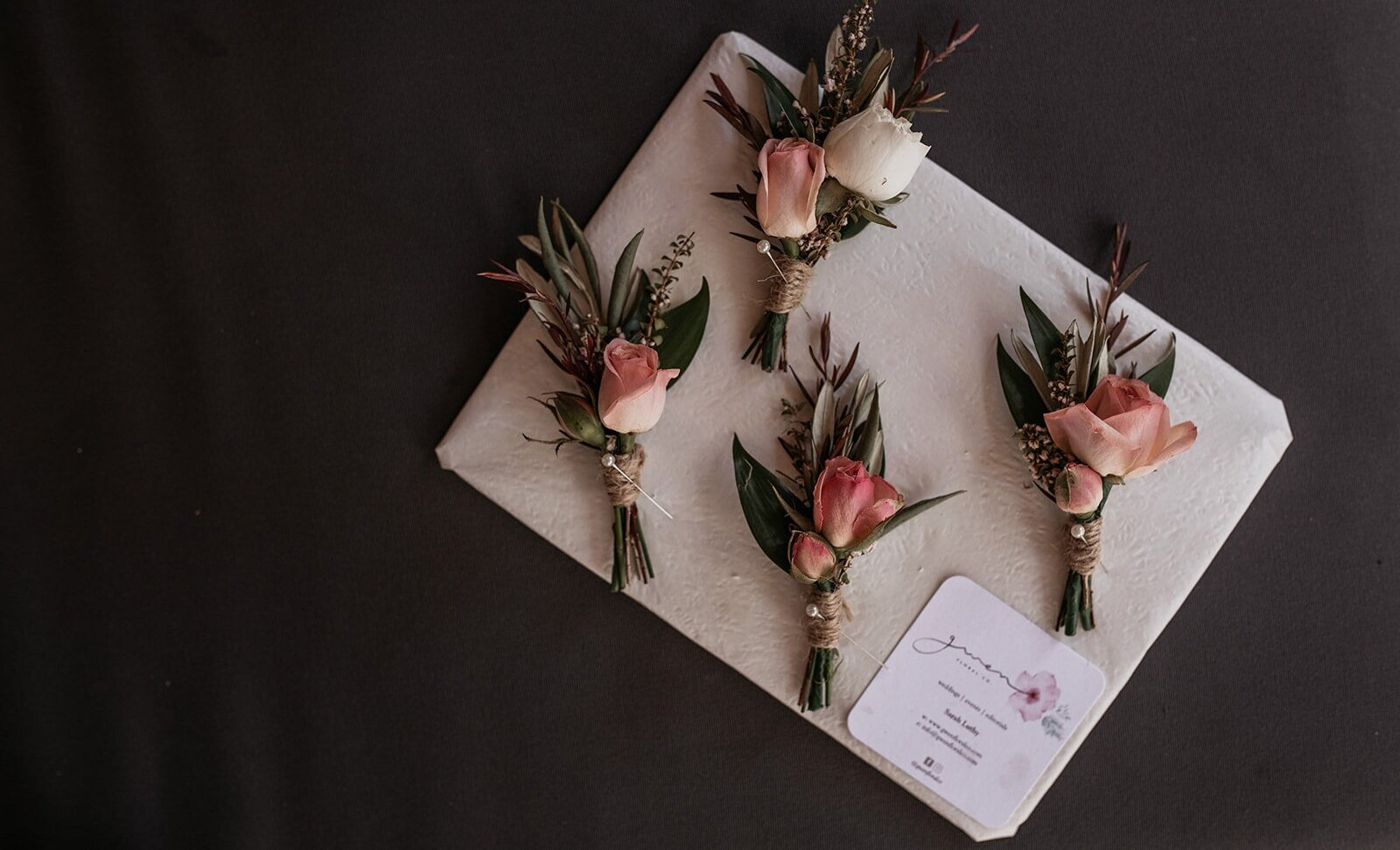 Buttonholes+Brisbane+Florist+Gwen+Floral+Co