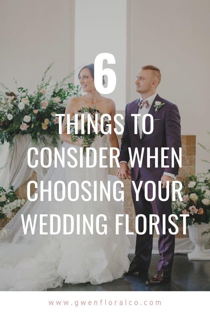 Wedding Planning Tips Florist