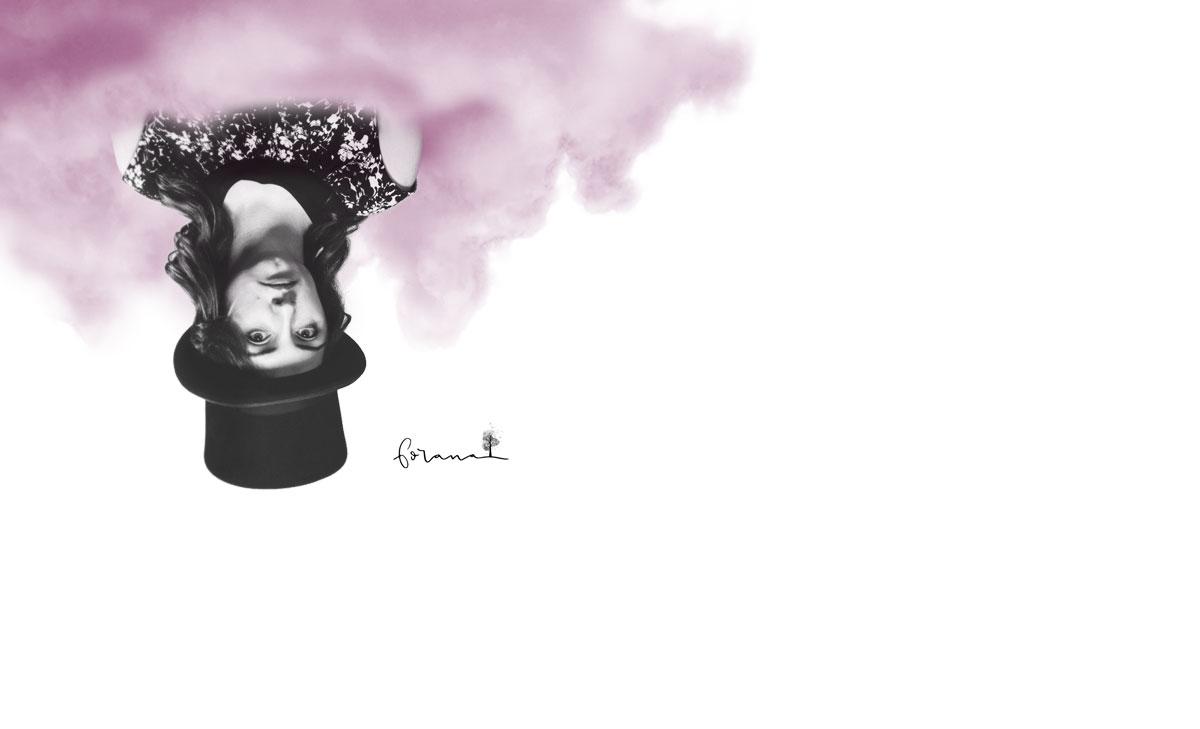 auch ich ... - ... bin gerne in meiner rosa Wolke