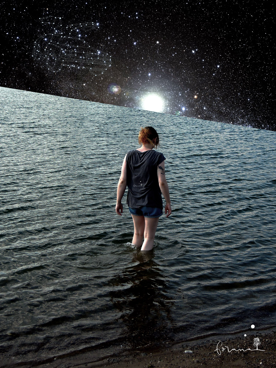 Der Horizont - ist das Universum