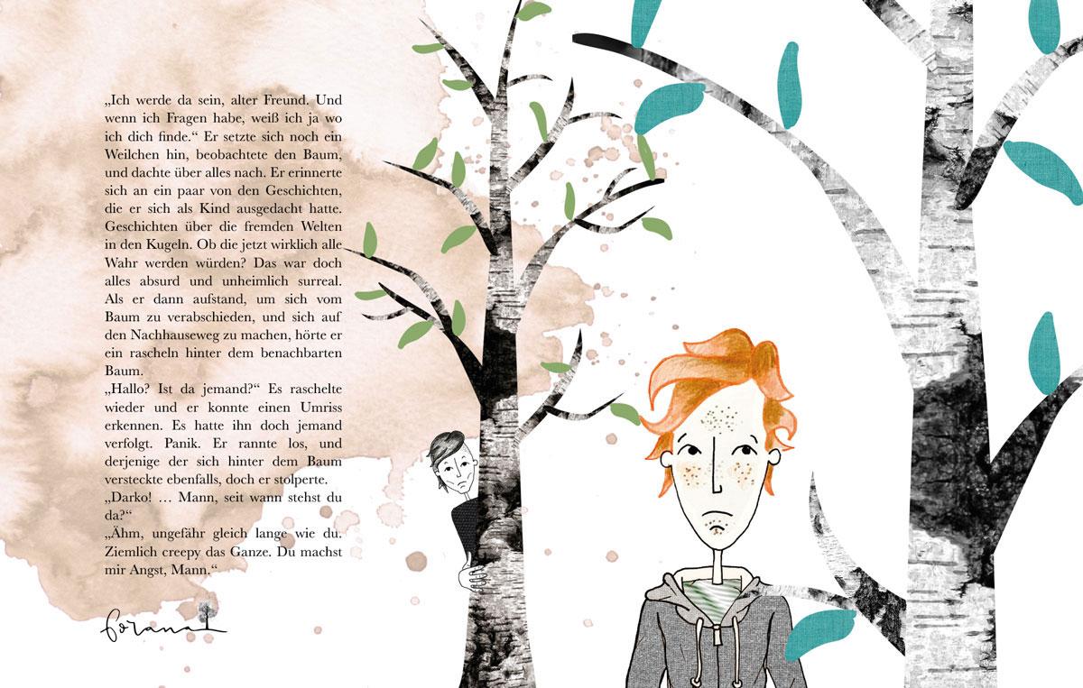 Pagedesign für das Buch