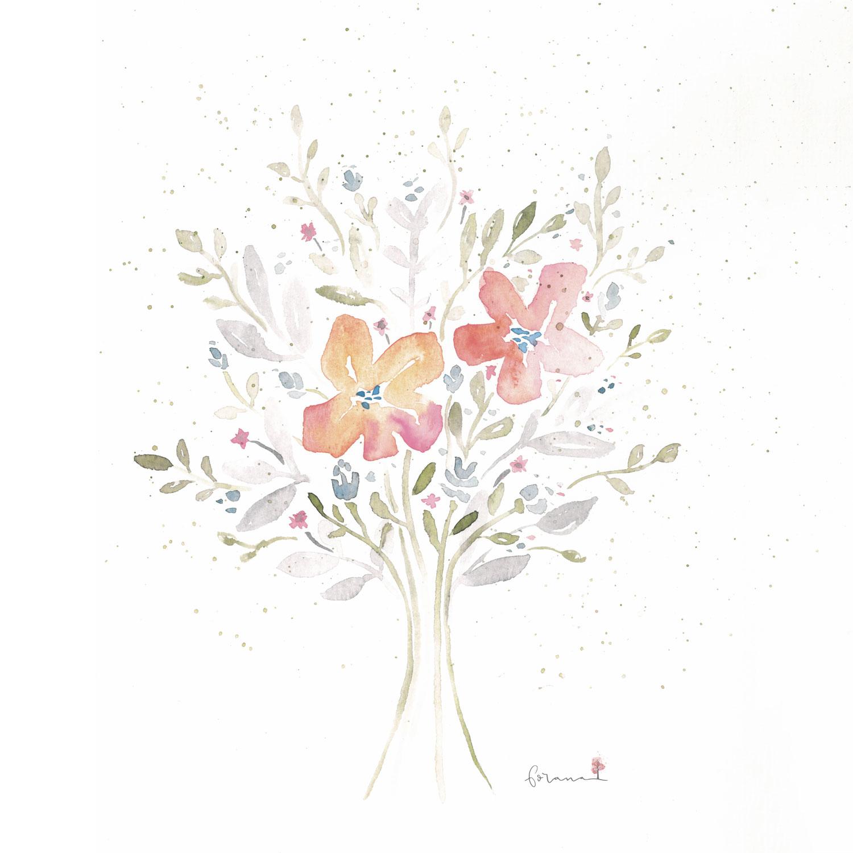 Blumenstrauß - ---MinimalWatercolor Design