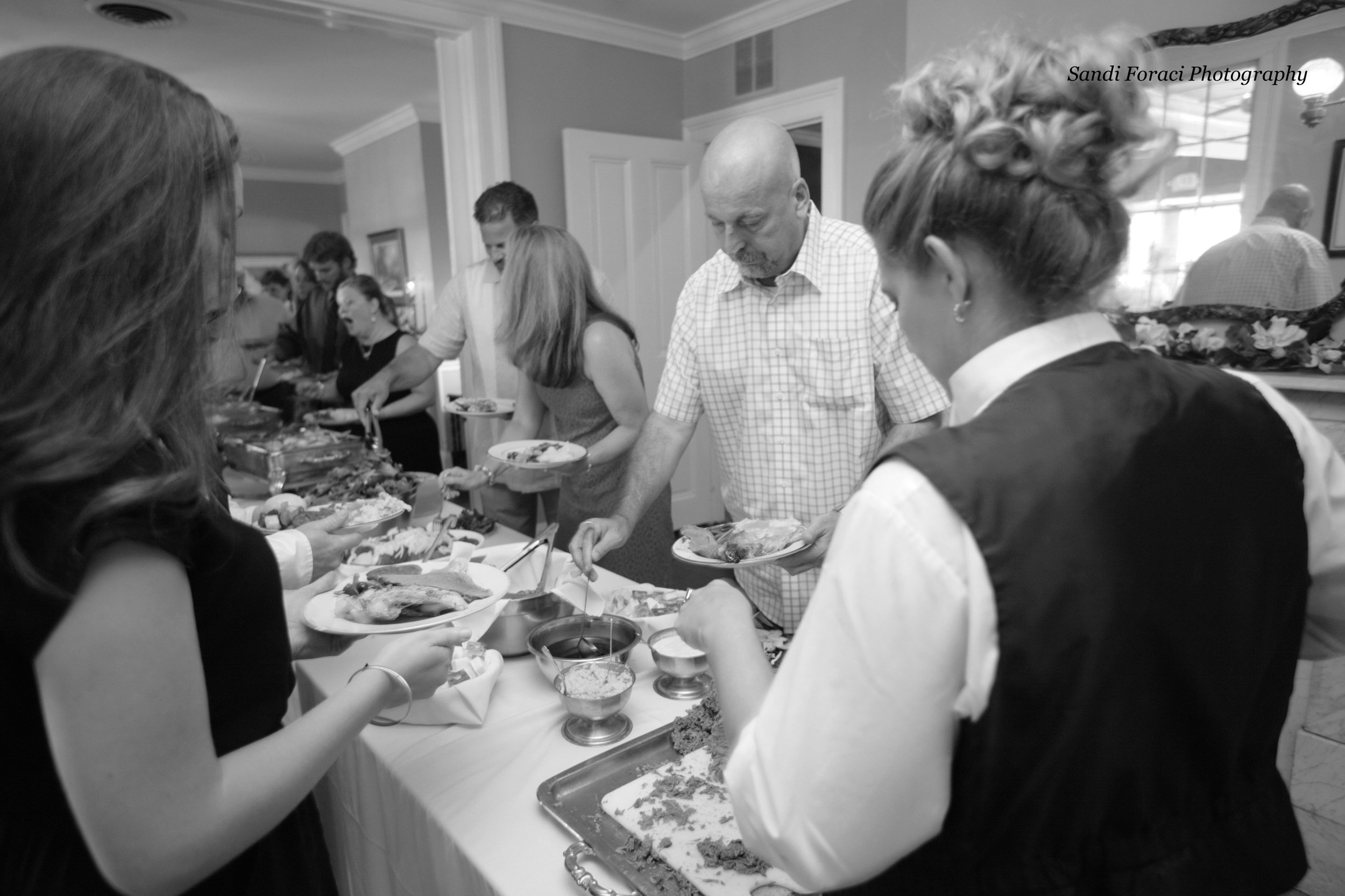 Catering buffet bw Sandi Foraci-12 Reception-0153.jpg