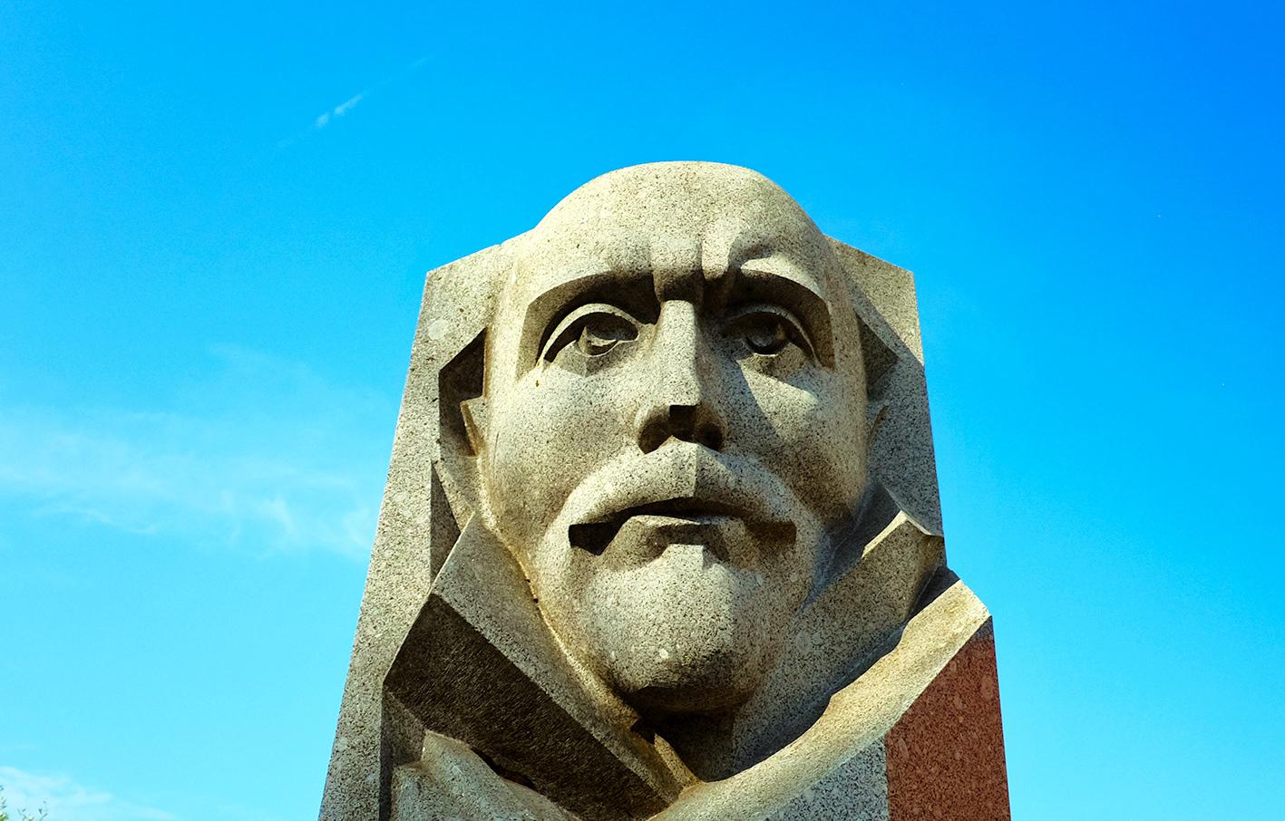 Soviet statue Tallinn