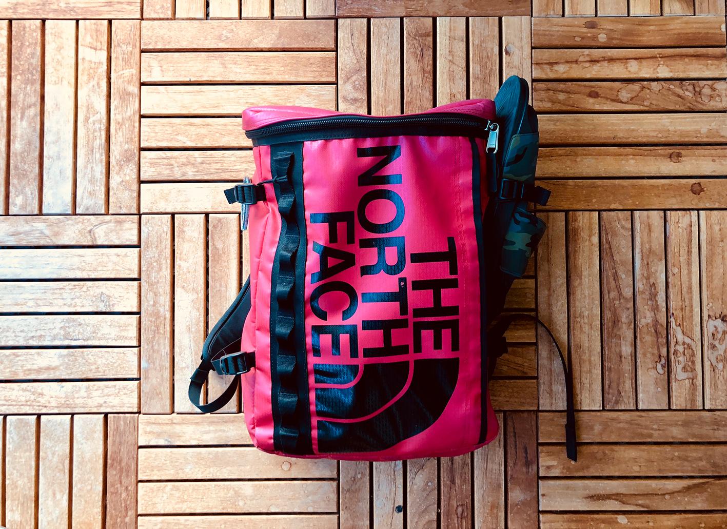 north face bag