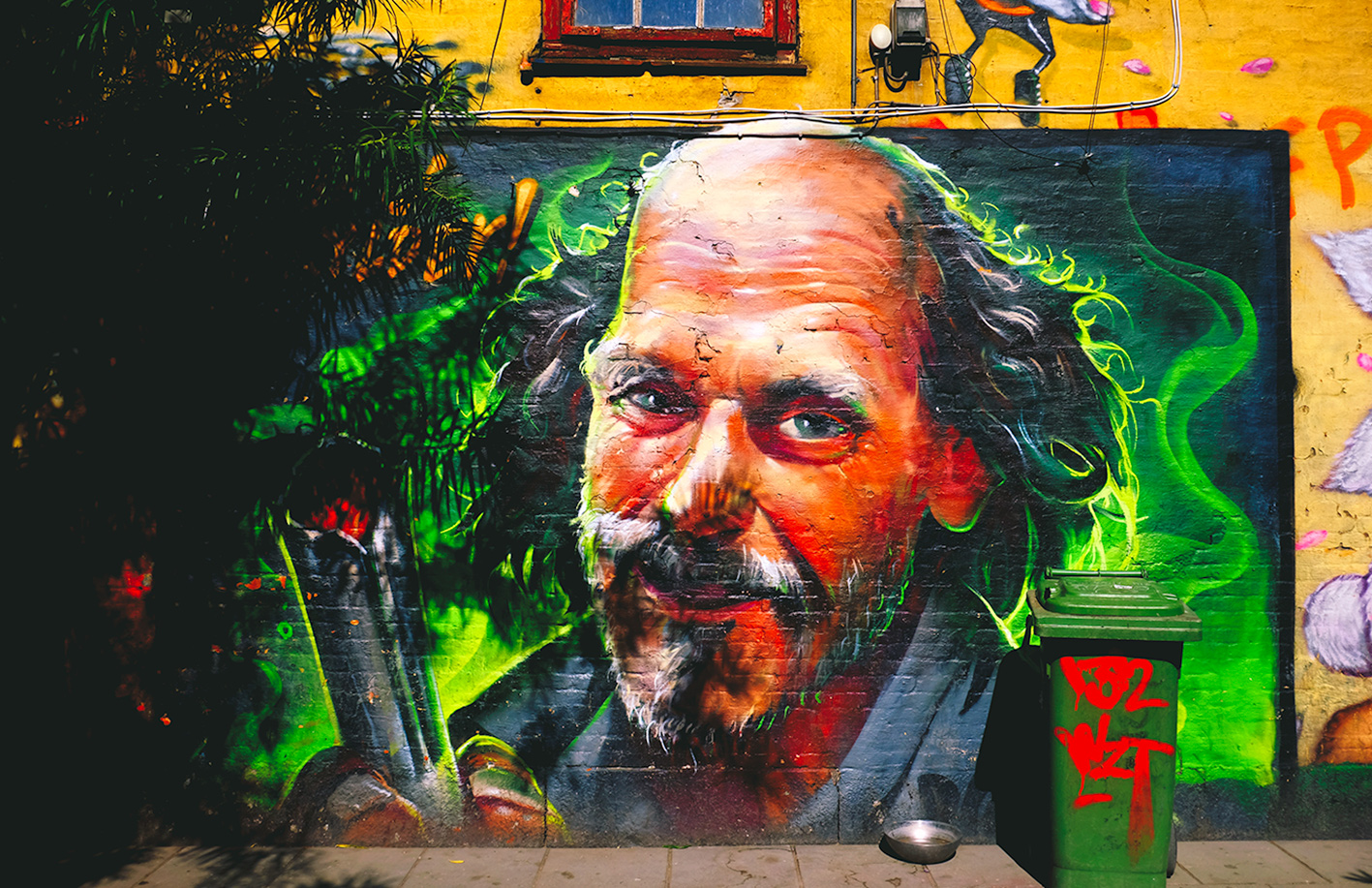 Freetown Christiania Street art
