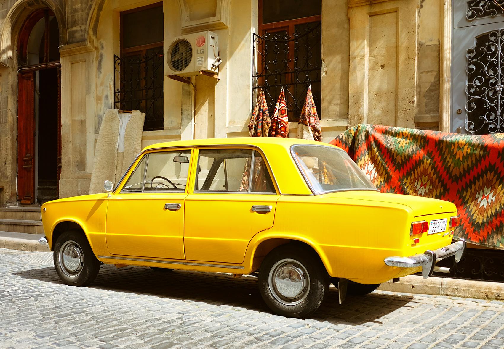 Baku Soviet Car