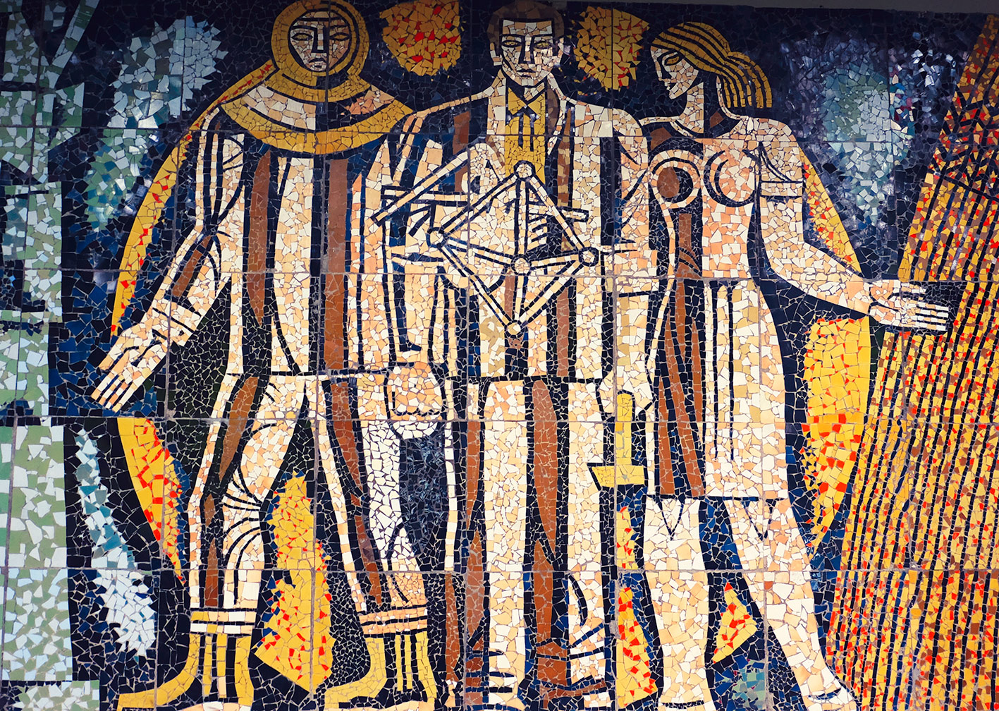 soviet mosaic tbilisi