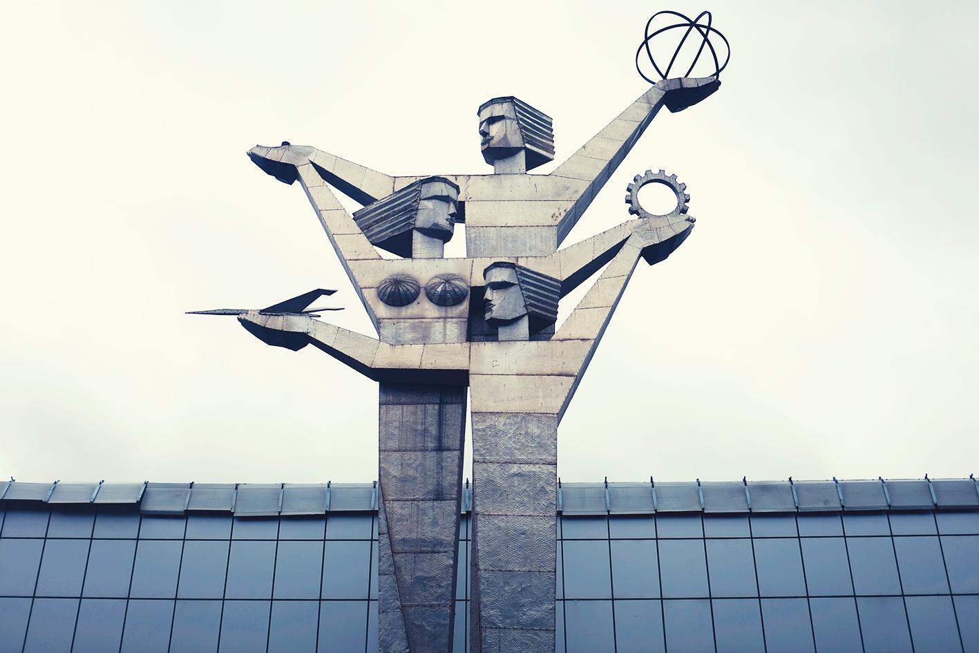 soviet statue tbilisi