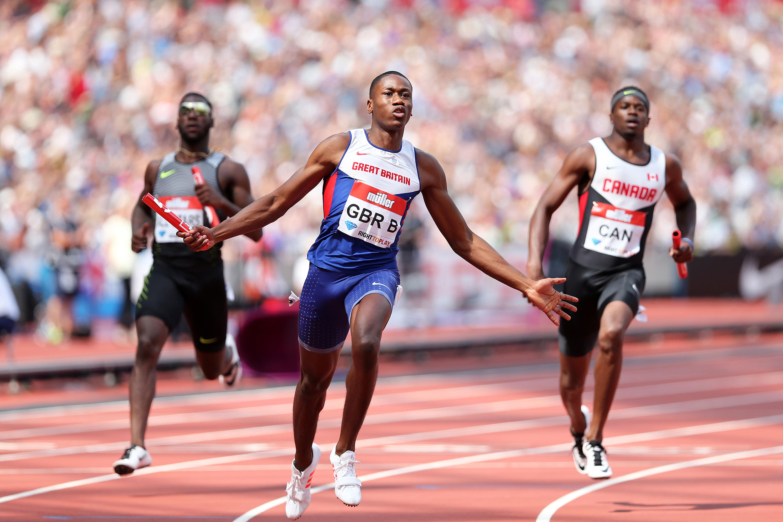 Ojie Edoburun - 100m & 200m sprinter who was part of the 4 x 100m Team GB relay squad at the Rio Olympics.In 2017 he is focused on the IAAF World Championships in London and ready to make his mark in the sprint world!We caught up with Ojie ahead of his ambassador month with us in June.
