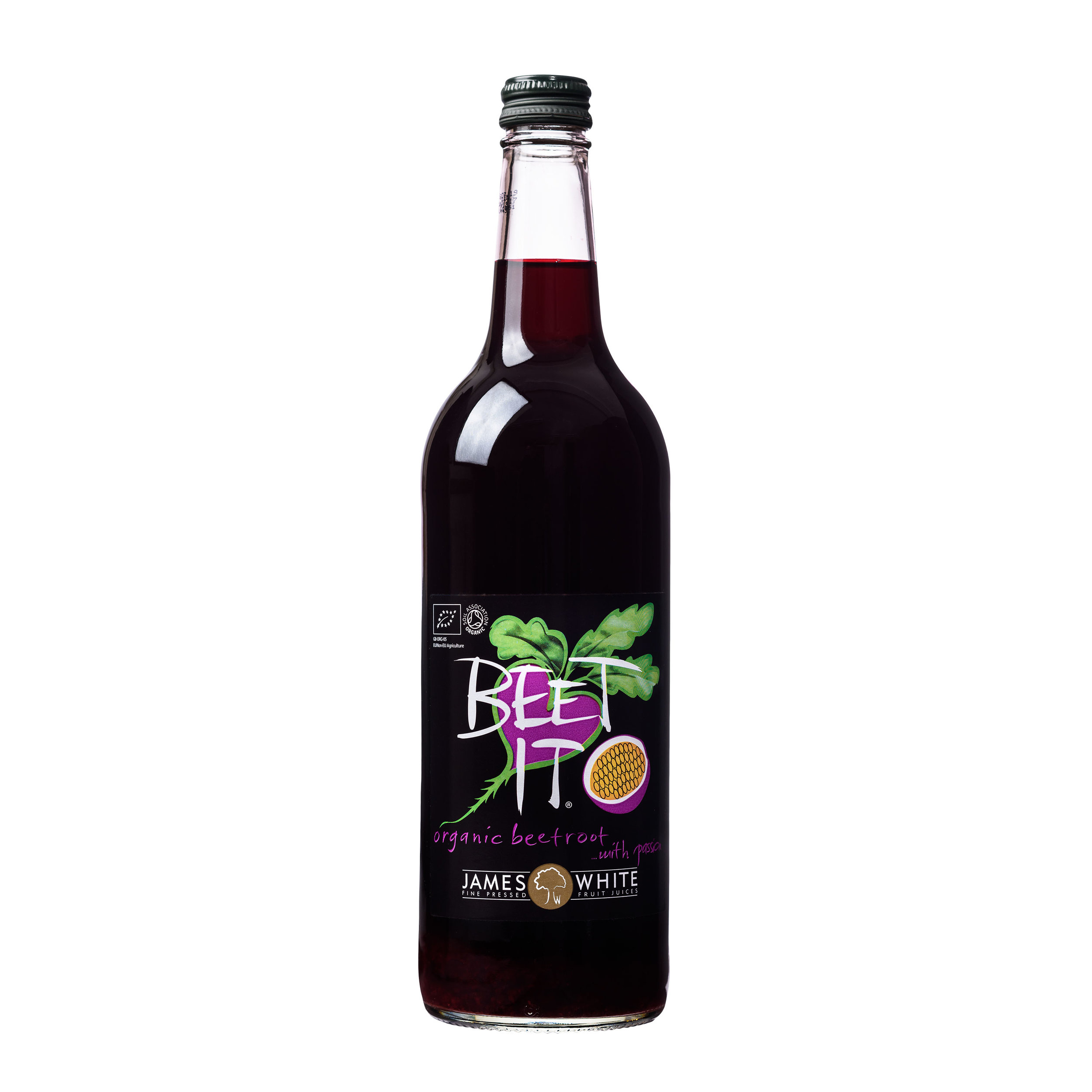 Beet It with Passionfruit