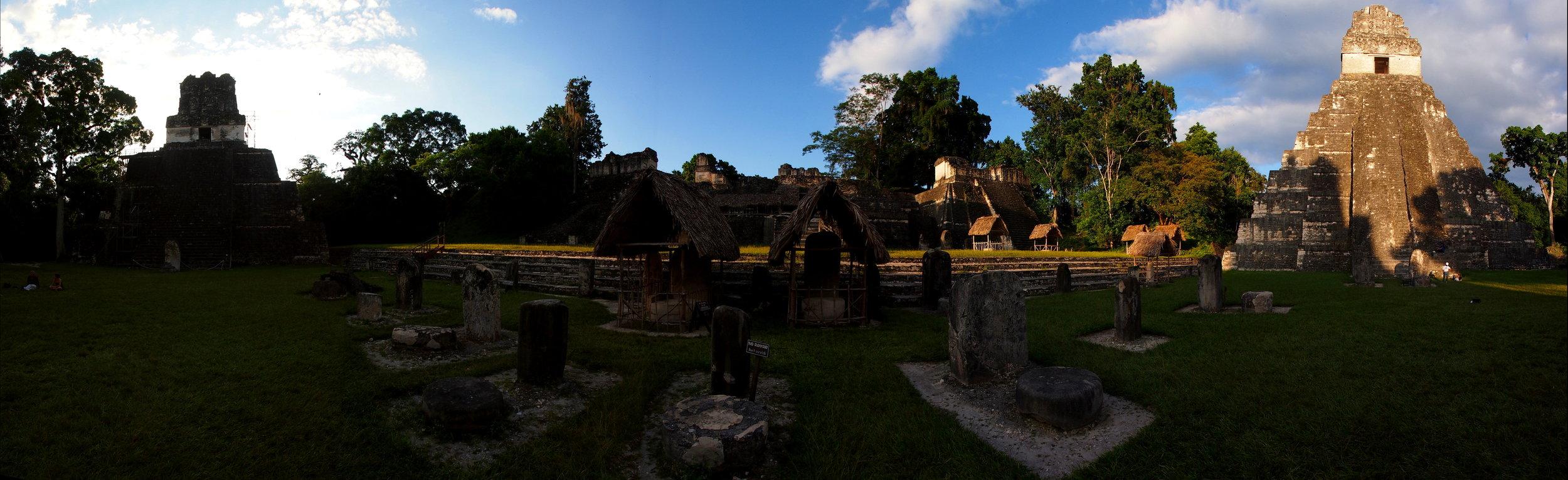 Tikal Temples of Chocolate man & his wife.jpg
