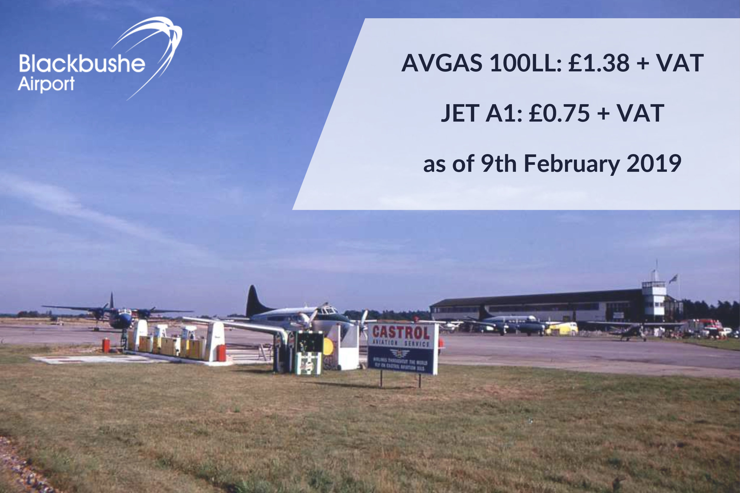 Reduced Fuel Prices - February 2019 — Blackbushe Airport