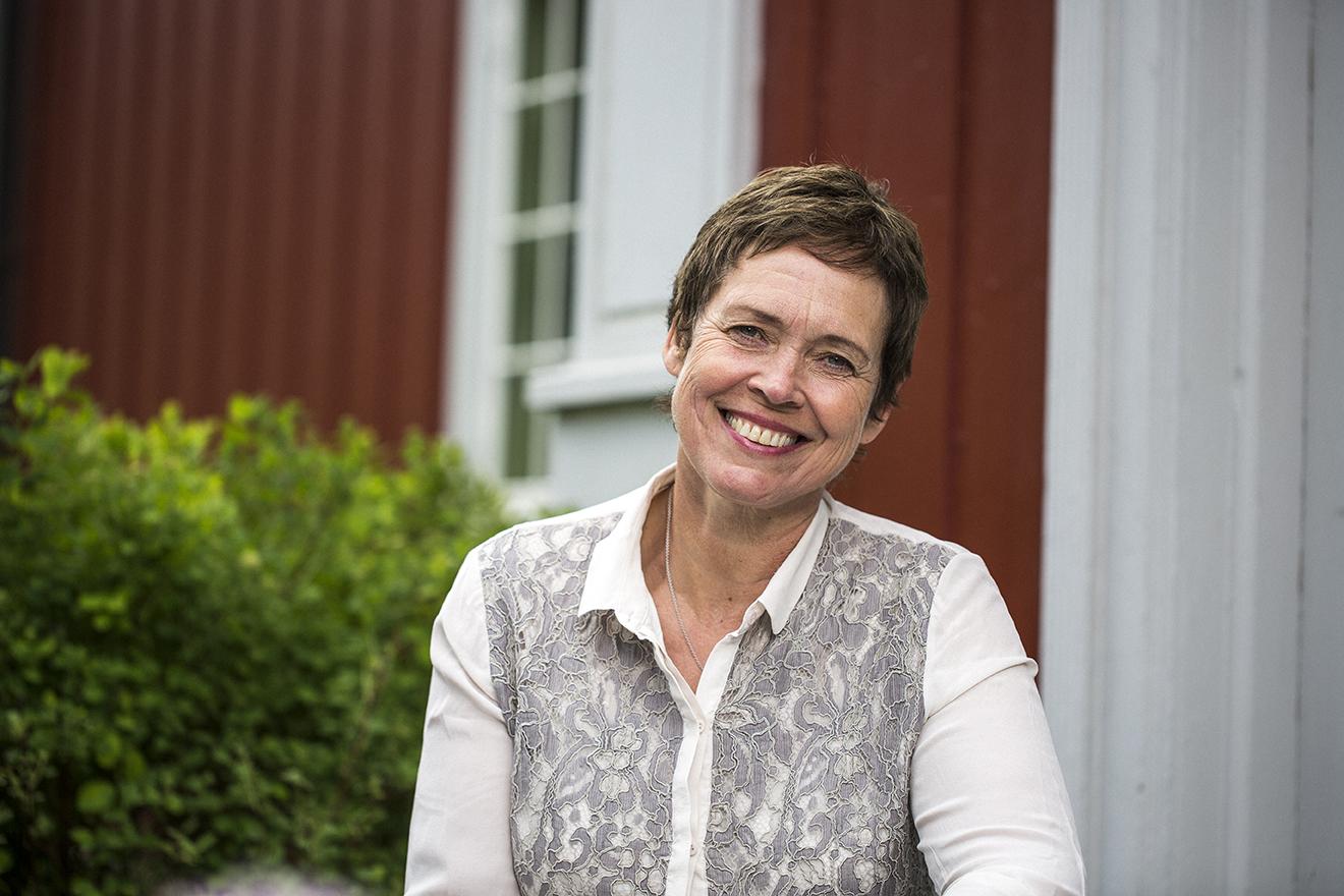 Marit Fougner, dagens driver på Søndre Fougner