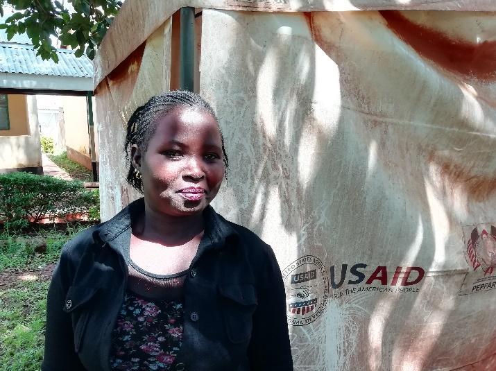 Nelly Lumbasi, Community Health Volunteer at Malava District Hospital