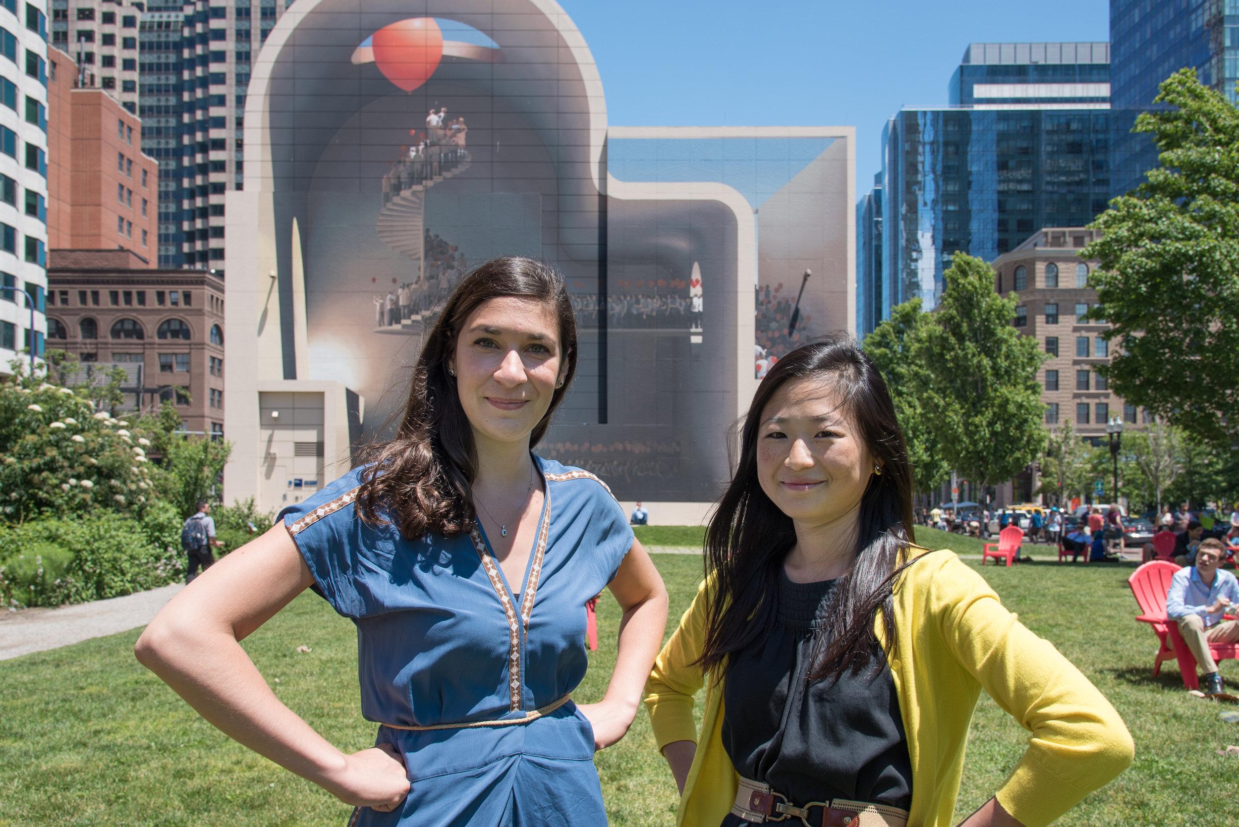 Zhanina Boyadzhieva & Juliet Chun (Founders of Girl UNinterrupted Project)  Photo Credit: Langer Hsu